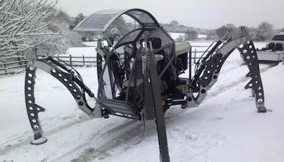 Spaidermenrāpuļtraktoruzparikte